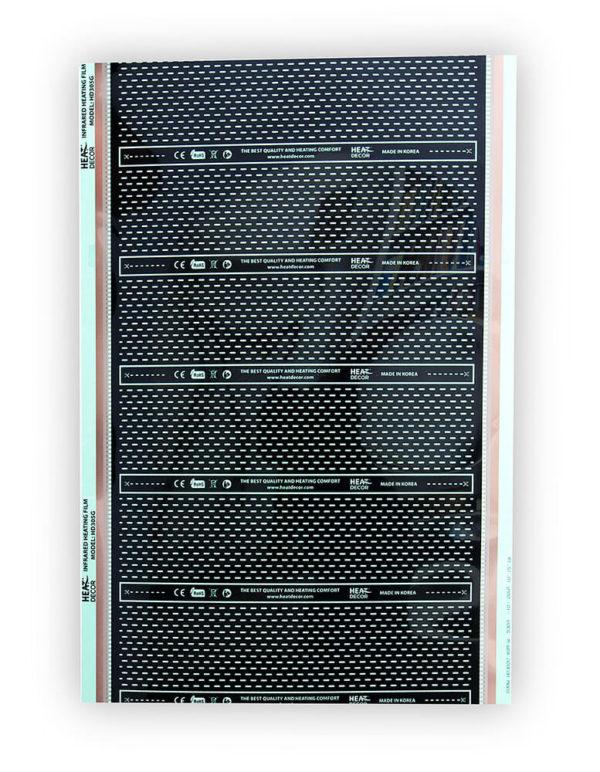 HD-305-110 instalační sada topné fólie