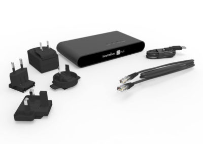 Heatmiser centrála NeoHub G2 pro ovládání vytápění přes smartphone