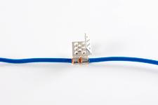 Lisovací konektor typ B k připojení topné fólie