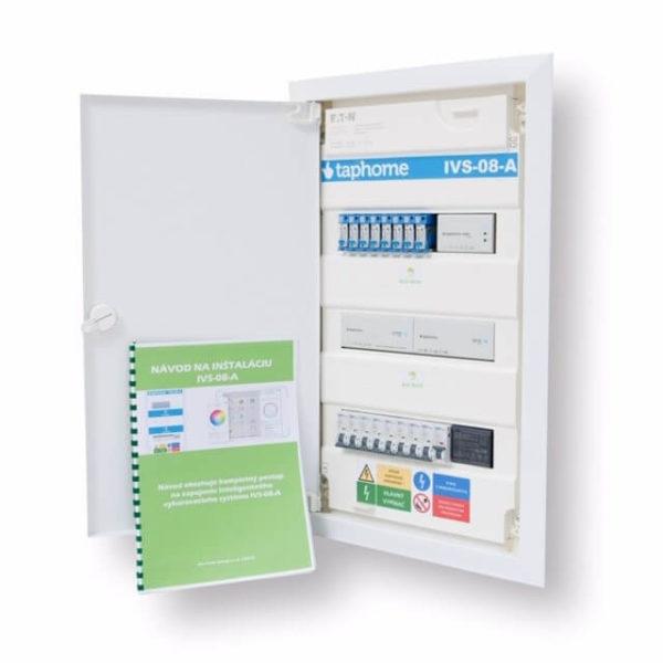 Rozvaděč IVS-08-A na regulaci topení