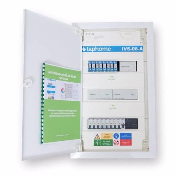 Rozvaděč IVS-08-A na regulaci podlahového vytápění
