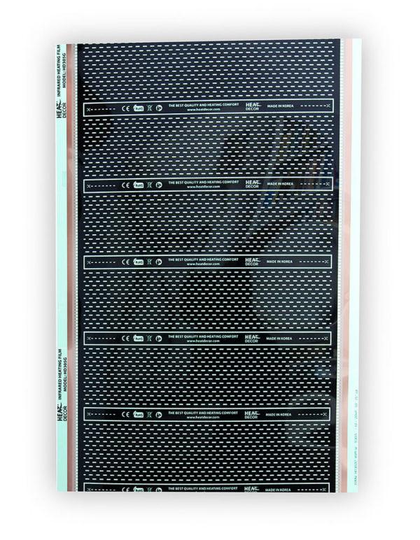 Topná fólie HD-305-40 0,5 metru