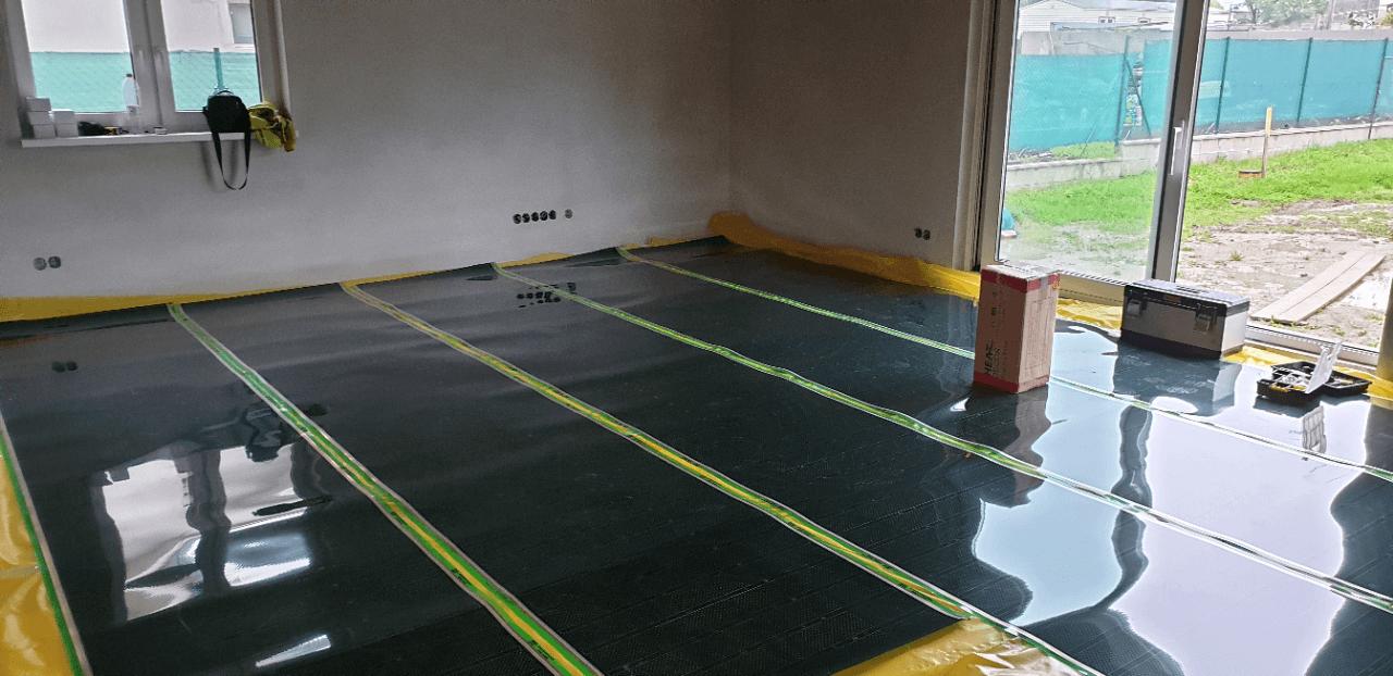 Podlahové topení RD